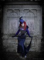 Victorian Gothic Lady by MADmoiselleMeli