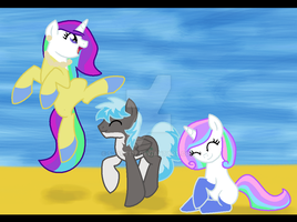 Everypony Do The Beach Dance! by SJArt117