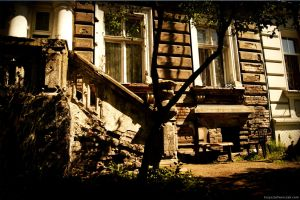 Old building by Dr-Stein
