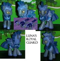 Luna's Royal Guard by RedCrosseKnight