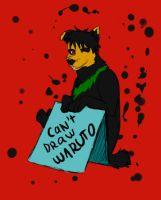 Can't draw Waruto by RussianKunoichi