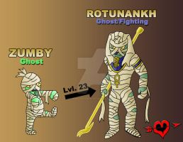 Mummy Fakemon Family by JamalPokemon