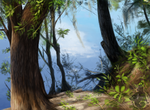 Riverbank Painting by animalartist16