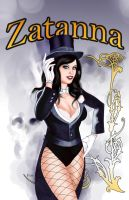 Zatanna by DarthTerry