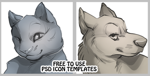 Free use Icons: Dog and Cat by skulldog