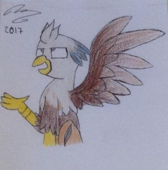 Silver Quill gift by MlpCocoaBean64