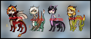 DragonTaur Adopts (CLOSED) by Adopt-From-Frog