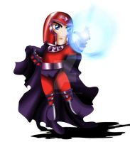 Magneto Chibi by ExoroDesigns