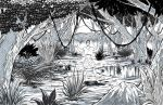 How to Draw a Jungle Landscape by ramstudios1