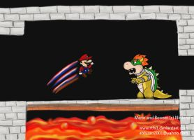 Facing Bowser by rtfs1