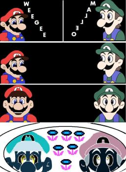 Malleo And Weegee by WeeGeeIsTheKey324