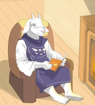 Toriel (commission) by Anomalia-Magnetica