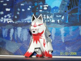 Fox Dog Wolf? papercraft pic2 by Draco3013
