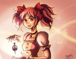 Madoka by lalitterboxes