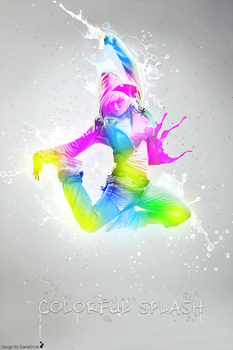 Colorful Splash by DanieLSsTyLe