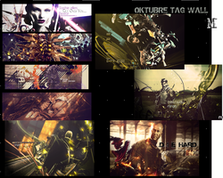 tag wall octubre. by marcelo-g