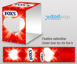 fox's valentine outer box by dodpop
