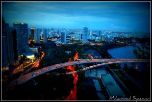 singapore at night. by syazwan10