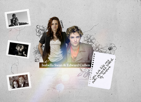 Edward and Bella by serendiipitous