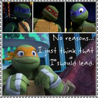 TMNT:: Mikey: I should lead by Culinary-Alchemist