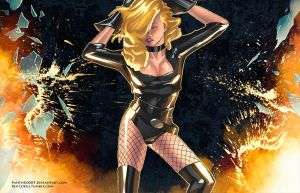 Black Canary Remix by Panthro005