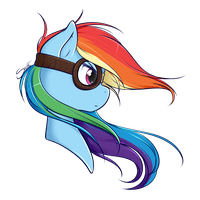 Rainbow Dash by secret-pony