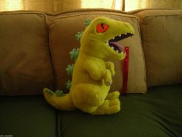 Giant Reptar Plush - SOLD by ellysketchit