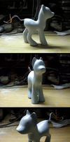 Pony OC Sculpture: Step 3 by gonedreamer