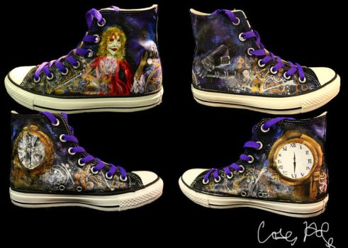 Doctor Who- Girl In the Fireplace Inspired Shoes by caseyhoke