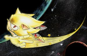 Super Sonic: Reach for the stars by Dash-Metal-Cheetah
