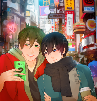 MH| Tokyo Date by knoc0ut