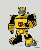 G1 animated Bumblebee by dcjosh