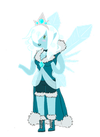 Ice Princess Winterie by SometimesCats