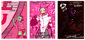 Valentines Cards -WIP- by Critical-Error