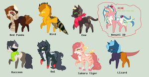 Mlp Animal Themes by REDandYELLOWZ