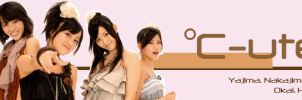 C-ute FB banner by ella-and-aimi