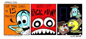 Pack, man! by brien-likes-cartoons
