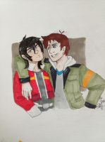 Keith And Lance by AnnHolland