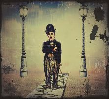 Charlie-Chaplin by poisen2014