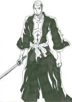 Me as a Bleach character by fenrirthomasb
