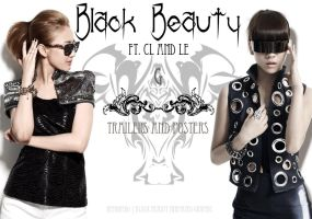 black beauty graphic shop by Remonedo