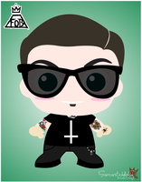 Andy Hurley by sarcasticlullaby