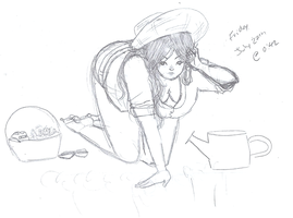 garden - APH South Mexico Pin-up by Powdered-Sugar