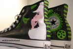 Wicked Shoes III by willdrawforfood