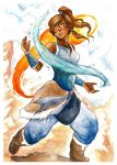 The Avatar Korra by om-nom-berries