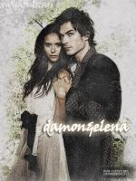 damon and elena. by xwishfulstars