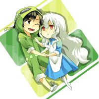 KagePro - Green Hearts by FiniBeanie