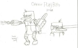 Official Platyborg Design Preview by RedJoey1992