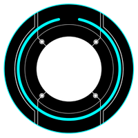 Tron Identity Disc by SkybreakerStudios