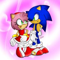 ~SonAmy~ by FireWitch25
